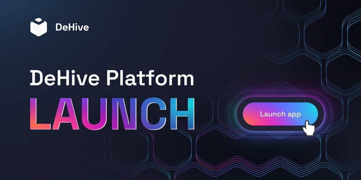 😱🔥DeHive platform is LIVE🥳🔥