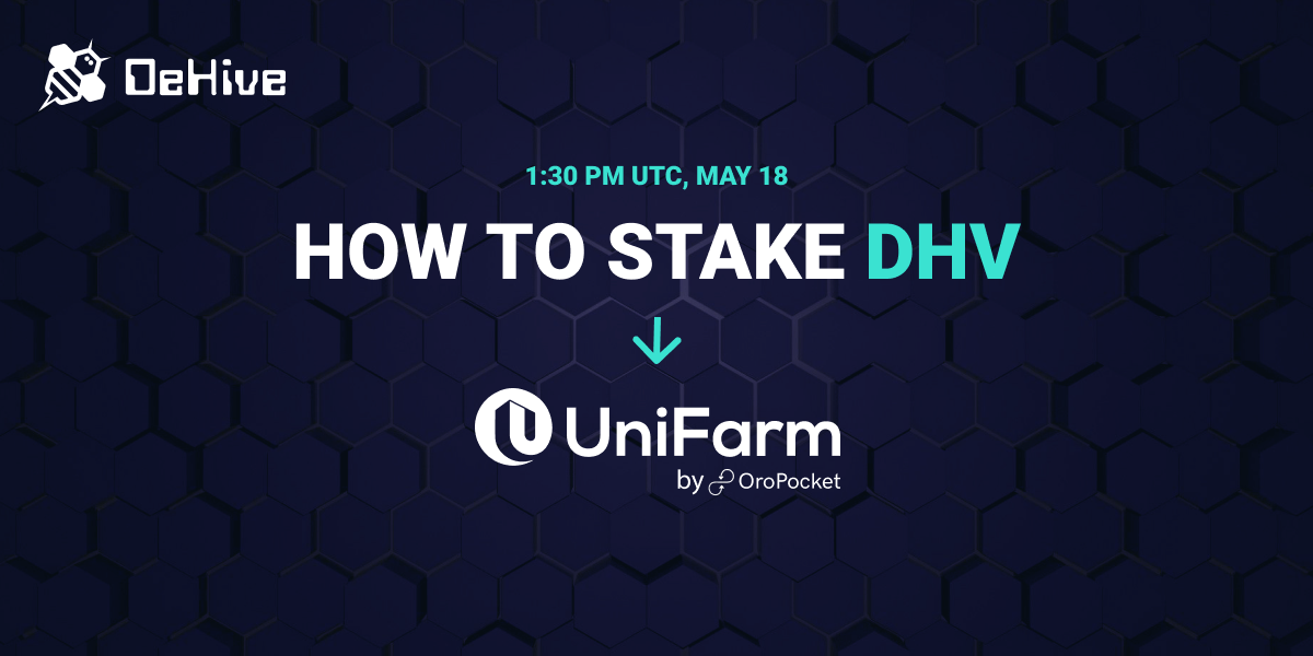 Step by Step guide on How to Stake $DHV On UniFarm