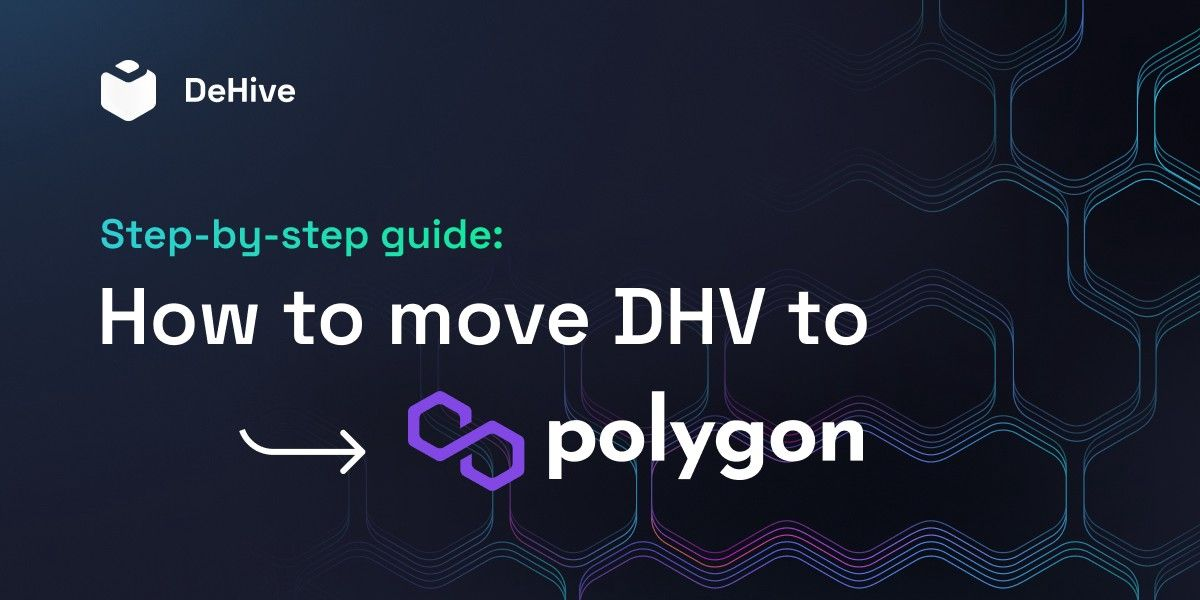 Step-by-step guide: How to move DHV to Polygon(MATIC) network?